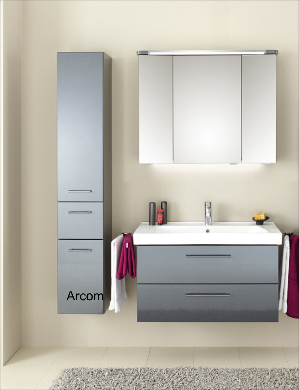 hochschrank pineo badschrank g nstig. Black Bedroom Furniture Sets. Home Design Ideas