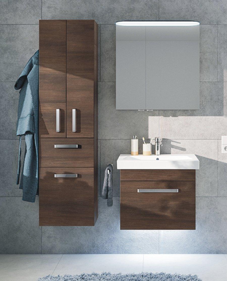 pineo hochschrank badschrank g nstig arcom center. Black Bedroom Furniture Sets. Home Design Ideas