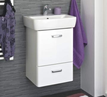 Pelipal Piolo Badmöbel 45 cm Set K | Gäste WC Waschtisch + Unterschrank