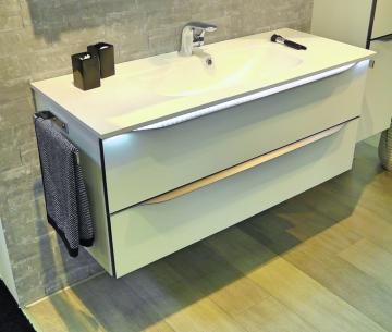 Pelipal Solitaire 6025 Waschtisch mit Unterschrank | Breite 117 cm
