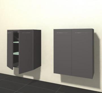 Pelipal Solitaire 6025 Highboard | Breite 60 cm | 2 Türen