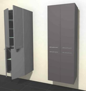 Pelipal Solitaire 6025 Hochschrank | Breite 60 cm | 4 Türen