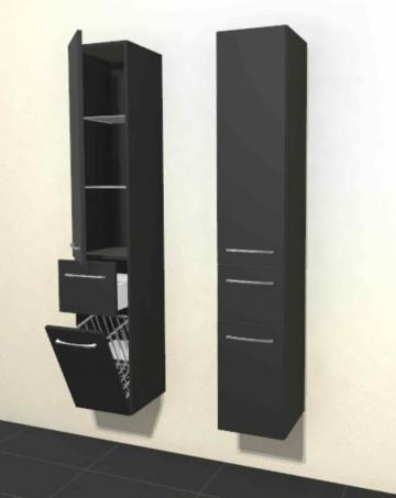 Pelipal Solitaire 6025 Hochschrank | Breite 30 cm | Wäschekippe
