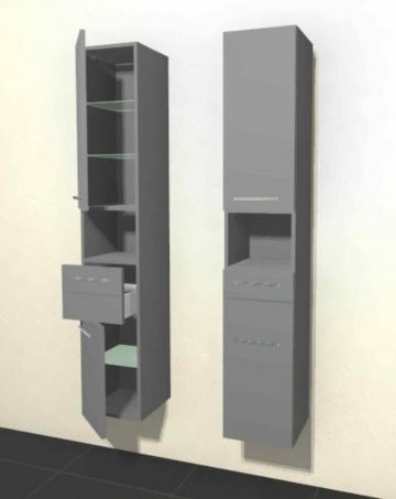 Pelipal Solitaire 6025 Hochschrank | Breite 30 cm | Offenem Regal