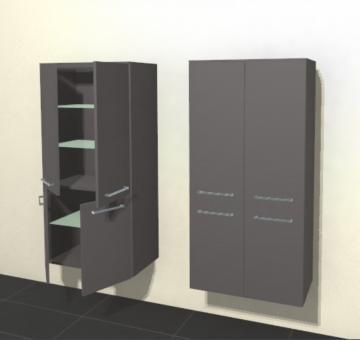 Pelipal Solitaire 6025 Midichrank | Breite 60 cm | 4 Türen