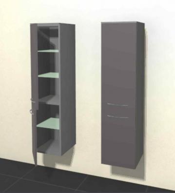 Pelipal Solitaire 6025 Midichrank | Breite 30 cm | 2 Türen