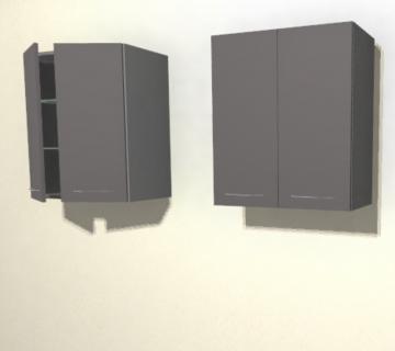 Pelipal Solitaire 6025 Wandschrank | 60 cm | 2 Türen