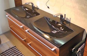 Pelipal Solitaire 6025 Waschtisch mit Unterschrank 132 cm | Set A
