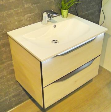 Pelipal Solitaire 6025 Waschtisch mit Unterschrank 67 cm | Set A