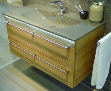 Pelipal Solitaire 6025 Waschtisch mit Unterschrank 97 cm | Set A
