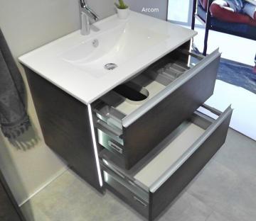 Pelipal Solitaire 6040 Waschtisch mit Unterschrank | 71 cm