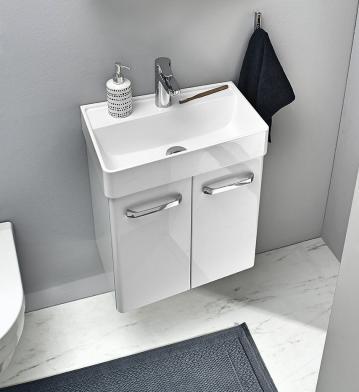 Pelipal Solitaire 6905 Waschtisch mit Unterschrank ohne Ablage | Links