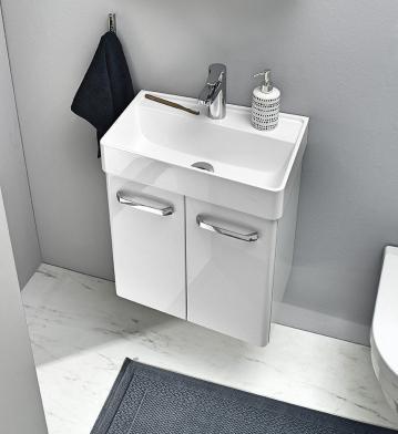 Pelipal Solitaire 6905 Waschtisch mit Unterschrank ohne Ablage | Rechts