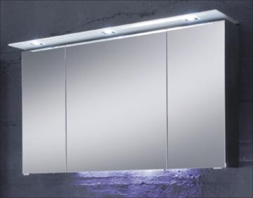 Pelipal Solitaire 7005 Spiegelschrank D 120 cm | LED-Beleuchtung Glaskranz