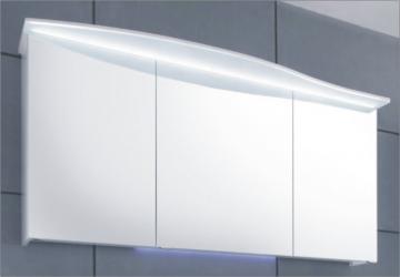 Pelipal Solitaire 7005 Spiegelschrank I 150 cm | LED Lichtkranz | Rundung Links