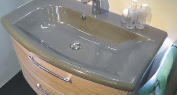 Pelipal Solitaire 7005 85 cm | Waschtisch Grau