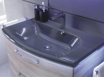 Pelipal Solitaire 7005 85 cm | Waschtisch Schwarz