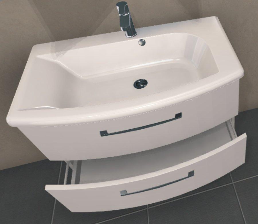 Pelipal Solitaire 7005 Set 85 cm | Spiegelschrank A