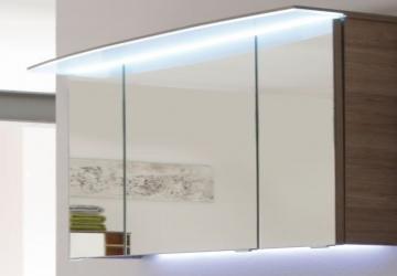 Pelipal Solitaire 7005 Spiegelschrank E 122 cm | LED Lichtkranz