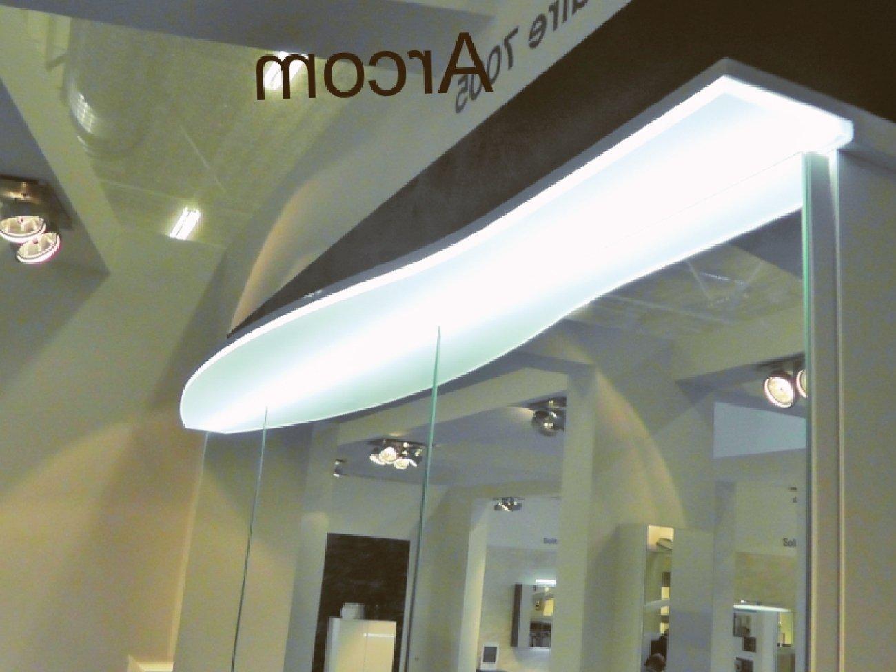 ... Pelipal Solitaire 7005 Spiegelschrank I 150 Cm | LED Lichtkranz |  Rundung Links ...