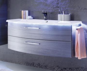 Pelipal Solitaire 7005 Waschtisch mit Unterschrank 124 cm | Set A