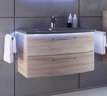 Pelipal Solitaire 7005 Waschtisch mit Unterschrank 85 cm | Set A
