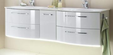 Pelipal Solitaire 7025 Waschtischunterschrank D | 4 Auszüge | mit LED 173 cm