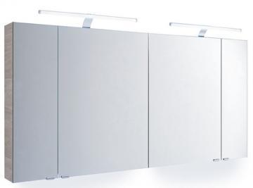 Pelipal Solitaire 7025 Spiegelschrank E 130 cm + 4 Türen