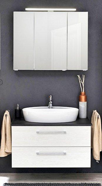 Pelipal Solitaire 9005 Badmöbel Set A | Waschtischplatte | Breite 75 cm