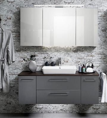 Pelipal Solitaire 9005 Badmöbel Set B | Waschtischplatte | Breite 75 cm