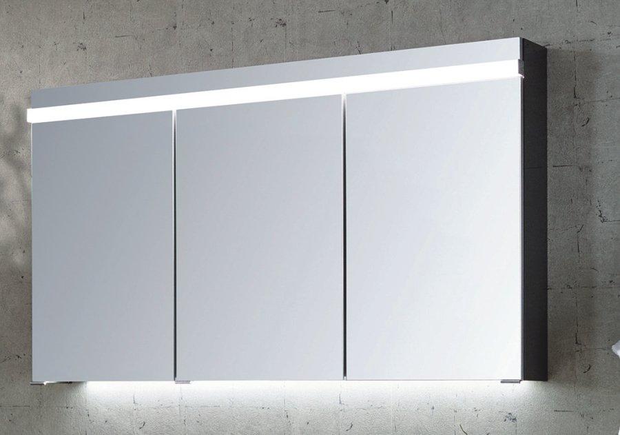 puris ace 120 cm spiegelschrank badm bel. Black Bedroom Furniture Sets. Home Design Ideas