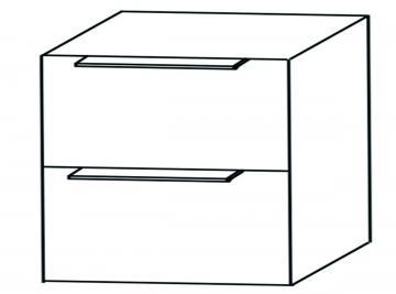 Puris Aspekt Unterschrank Breite 60 cm | 2 Auszüge