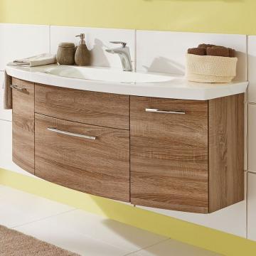 Puris Classic Line Waschtischunterschrank 140 cm | 1 Auszug | Für Glas/Mineral