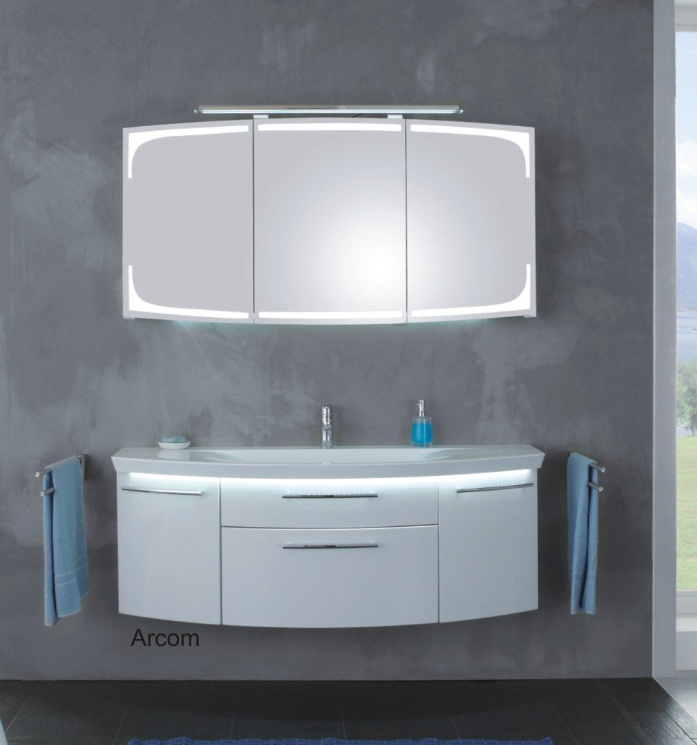 puris classic line glaswaschtisch anthrazit 140 cm arcom center. Black Bedroom Furniture Sets. Home Design Ideas