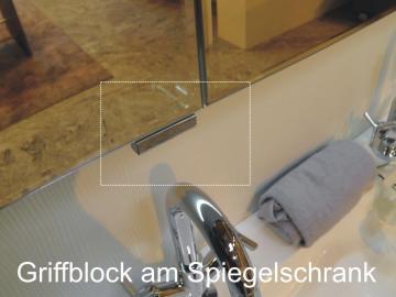 Puris Classic Line Griffblock für Spiegelschranktür