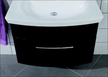 Puris Classic Line Waschtischunterschrank 70 cm | 1 Auszug | für Glas/Mineral