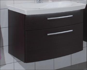Puris Classic Line Waschtischunterschrank 70 cm | 2 Auszüge | für Mineralguss