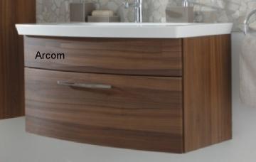 Puris Classic Line Waschtischunterschrank 90 cm | 1 Auszug | Für Glas/Mineral