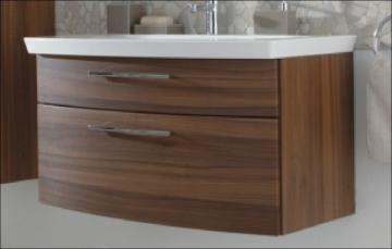 Puris Classic Line Waschtischunterschrank 90 cm | 2 Auszüge | Für Mineralguss