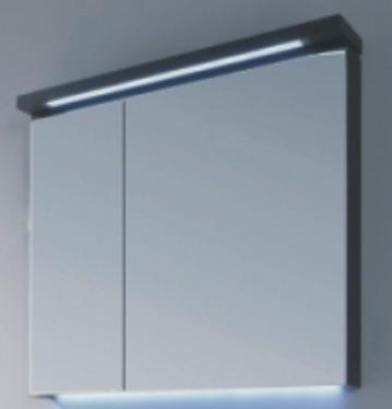 Puris Cool Line 60 cm | Spiegelschrank Serie A | Gesimsboden