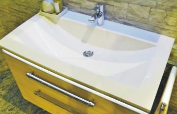 Puris Cool Line 90 cm | Waschtisch Stone-Plus