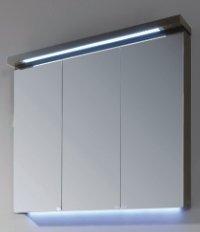 Puris Cool Line 90 cm | Spiegelschrank | Serie A | Gesimsboden
