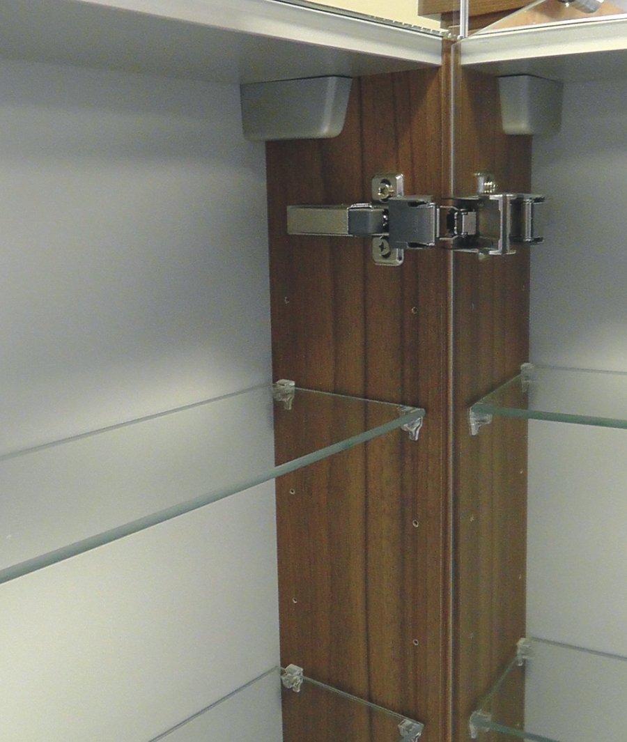 puris cool line spiegelschrank 90 cm led fl chenl arcom. Black Bedroom Furniture Sets. Home Design Ideas