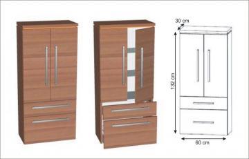 Puris Cool Line Mittelschrank | 60 cm