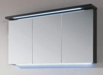 Puris Cool Line 120 cm | Spiegelschrank | Serie A | Gesimsboden