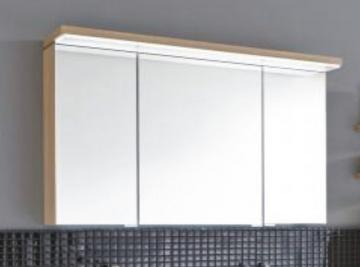 Puris Cool Line 120 cm | Spiegelschrank | Serie B | LED-Flächenleuchte