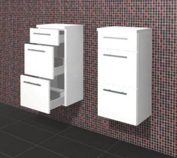 Puris Crescendo Badmöbel Highboard 40 cm