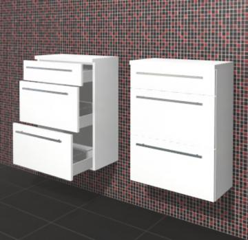 Puris Crescendo Badmöbel Highboard 60 cm