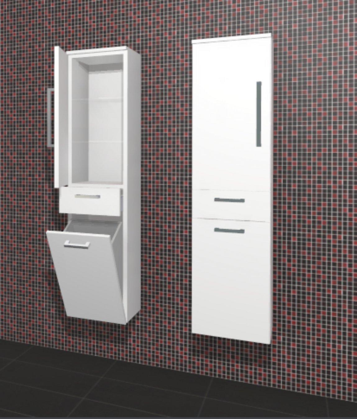 hochschrank crescendo badschrank puris. Black Bedroom Furniture Sets. Home Design Ideas