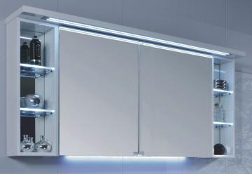 Puris Crescendo Spiegelschrank LED 140 cm